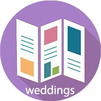 Wedding Brochure Button
